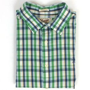 Original Penguin Short Sleeve Button Front Shirt